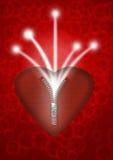 Ενεργειακή καρδιά διανυσματική απεικόνιση