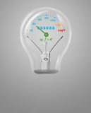 ενεργειακή φύση διανυσματική απεικόνιση