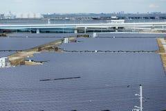 Ενεργειακός σταθμός ηλιακής ενέργειας Στοκ Φωτογραφίες