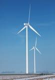 ενεργειακό αγρόκτημα στοκ εικόνα