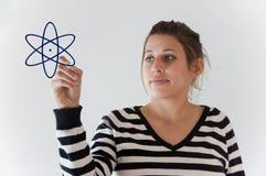 ενεργειακό κορίτσι Στοκ Φωτογραφία