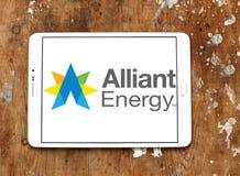 Ενεργειακό λογότυπο Alliant Στοκ Εικόνες