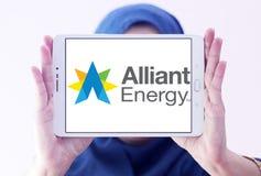 Ενεργειακό λογότυπο Alliant Στοκ εικόνα με δικαίωμα ελεύθερης χρήσης