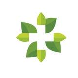 Ενεργειακό λογότυπο ήλιων, Στοκ φωτογραφία με δικαίωμα ελεύθερης χρήσης