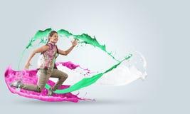 Ενεργητικός χορευτής Στοκ φωτογραφία με δικαίωμα ελεύθερης χρήσης