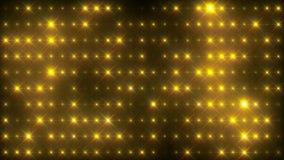 Ενεργητικός χρυσός ελαφρύς βρόχος τοίχων διανυσματική απεικόνιση
