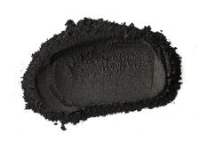 Ενεργοποιημένη σκόνη ξυλάνθρακα Στοκ φωτογραφία με δικαίωμα ελεύθερης χρήσης