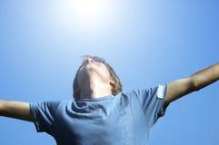 ενεργός εμφάνιση ευτυχίας αγοριών στοκ εικόνες με δικαίωμα ελεύθερης χρήσης