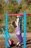 ενεργός παιδική χαρά παιδ&iot Στοκ Εικόνες
