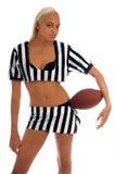 ενεργό κορίτσι footballl στοκ φωτογραφία με δικαίωμα ελεύθερης χρήσης
