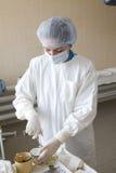 ενεργό πορτρέτο νοσοκόμω&n Στοκ φωτογραφία με δικαίωμα ελεύθερης χρήσης