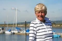 ενεργό grandma Στοκ εικόνα με δικαίωμα ελεύθερης χρήσης