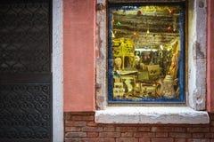 ενετικά Windows της Ιταλίας Στοκ εικόνες με δικαίωμα ελεύθερης χρήσης