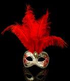 Ενετική μάσκα Στοκ Φωτογραφίες