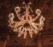 Ενετικό γυαλί Chandolier στη Βενετία Ιταλία Στοκ φωτογραφία με δικαίωμα ελεύθερης χρήσης