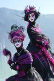 Ενετικό καρναβάλι στο Annecy, Γαλλία Στοκ Εικόνες