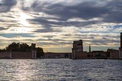 Ενετικό οπλοστάσιο στην περιοχή Castello στη Βενετία Στοκ Εικόνες