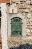 Ενετικό παράθυρο, πόρτα, αψίδα, αρχιτεκτονική από την Ιταλία στοκ εικόνα με δικαίωμα ελεύθερης χρήσης