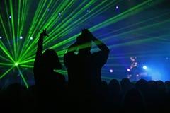 Ενθαρρυντική συναυλία Στοκ Εικόνες