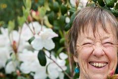 Ενθαρρυντικός χρονών κηπουρός ογδόντα Στοκ Εικόνα