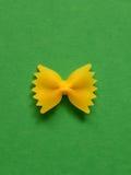 Ενιαία ζυμαρικά farfalle Στοκ Φωτογραφίες