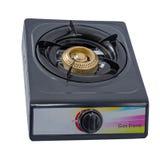 Ενιαία κουζίνα αερίου καυστήρων στοκ φωτογραφίες με δικαίωμα ελεύθερης χρήσης
