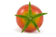ενιαία ντομάτα κερασιών στοκ εικόνα