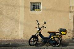 ενιαία οδός μοτοσικλετ στοκ εικόνα