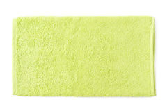 Ενιαία πετσέτα σφουγγαριών που απομονώνεται Στοκ εικόνες με δικαίωμα ελεύθερης χρήσης