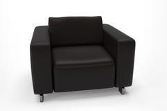 ενιαίος καναπές καθισμάτ&o Στοκ Φωτογραφία