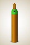 Ενιαίος κύλινδρος αερίου Στοκ εικόνα με δικαίωμα ελεύθερης χρήσης