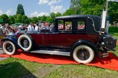 Ενιαίο εκλεκτής ποιότητας αυτοκίνητο οκτώ 143 Packard - εικόνα αποθεμάτων Στοκ φωτογραφία με δικαίωμα ελεύθερης χρήσης