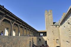 Ενισχυμένη πόλη του Carcassonne Στοκ εικόνες με δικαίωμα ελεύθερης χρήσης