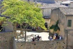 Ενισχυμένη πόλη του Carcassonne Στοκ Εικόνες