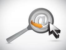 Ενισχύστε την απεικόνιση έννοιας Διαδικτύου ελεύθερη απεικόνιση δικαιώματος