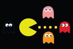 Εννοιολογική απεικόνιση παιχνιδιών Arcade Στοκ Εικόνες