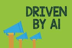 Εννοιολογική παρουσίαση γραψίματος χεριών Drive από το Α1 Κίνηση κειμένων επιχειρησιακών φωτογραφιών ή ελεγχόμενος από έναν οδηγό απεικόνιση αποθεμάτων