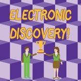 Εννοιολογικό χέρι που γράφει παρουσιάζοντας ηλεκτρονική ανακάλυψη Αν απεικόνιση αποθεμάτων