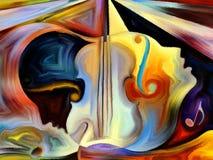 Εννοιολογική μουσική Στοκ Φωτογραφίες