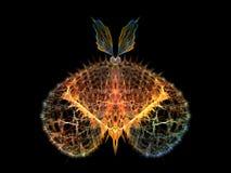 Εννοιολογική πεταλούδα Στοκ φωτογραφία με δικαίωμα ελεύθερης χρήσης