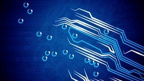 Εννοιολογικοί πίνακα κυκλωμάτων και σήματα διανυσματική απεικόνιση
