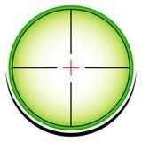 Εννοιολογικό εικονίδιο σταυρονημάτων (crosshair) ελεύθερη απεικόνιση δικαιώματος