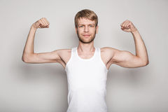 Εννοιολογικό πορτρέτο ενός αριστερού - άτομο Στοκ Εικόνα