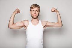 Εννοιολογικό πορτρέτο ενός δικαιώματος - άτομο Στοκ Εικόνες