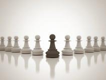 Εννοιολογικό υπόβαθρο ηγεσίας διανυσματική απεικόνιση