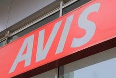 Ενοίκιο αυτοκινήτων της AVIS στοκ φωτογραφίες με δικαίωμα ελεύθερης χρήσης