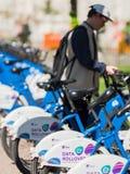 Ενοίκιο ποδηλάτων στο Όσλο, Νορβηγία Στοκ φωτογραφίες με δικαίωμα ελεύθερης χρήσης