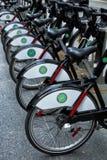 Ενοικιαζόμενο ποδήλατο στο Τορόντο Στοκ εικόνα με δικαίωμα ελεύθερης χρήσης