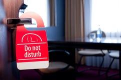 ενοχλήστε δεν υπογράφε&i Στοκ Φωτογραφίες