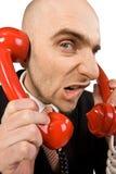 ενοχλητικό τηλέφωνο κλήσ&e Στοκ εικόνα με δικαίωμα ελεύθερης χρήσης